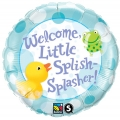 Welcome Little Splasher Foil Balloon
